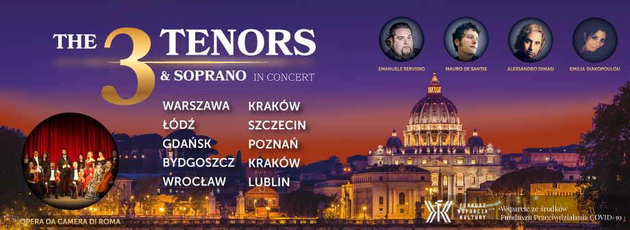 3 tenorow koncert