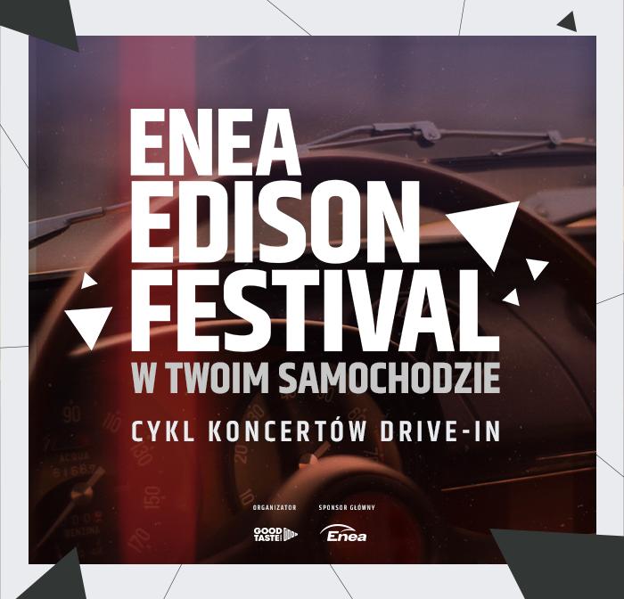 Enea Edison Festival w samochodzie