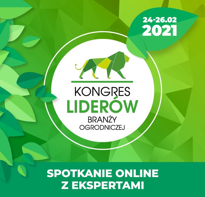 Kongres Liderów Branży Ogrodniczej - ONLINE