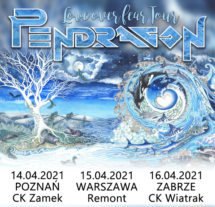 Pendragon - Love Over Fear Tour