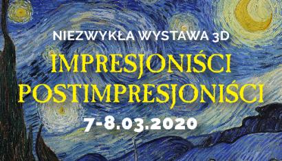 Gdańsk - Wystawa malarstwa impresjonistów i postimpresjonistów w 3D