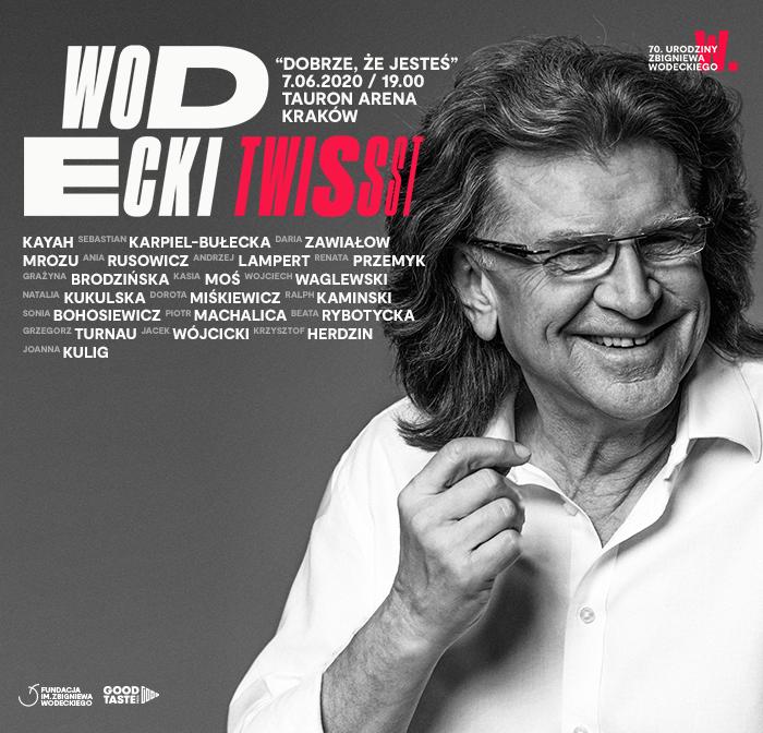 Wodecki Twist 2020 - Koncert Galowy:  URODZINY ZBIGNIEWA WODECKIEGO