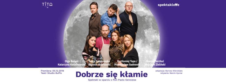 Spektakl - Dobrze się kłamie Poznań