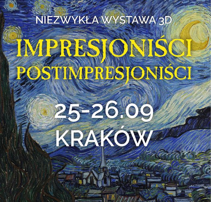 wystawa impresjonistow i postimpresjonistow w 3d