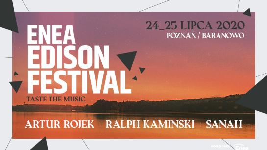 Artur Rojek, Ralph Kaminski i sanah pierwszymi artystami Enea Edison Festival 2020