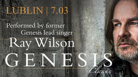 Ray Wilson - Genesis Classic – dostępne bilety!