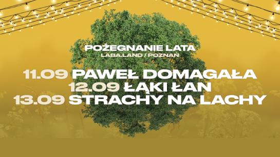 Pożegnanie Lata – koncerty Paweł Domagała, Łąki Łan i Strachy na Lachy w Poznaniu