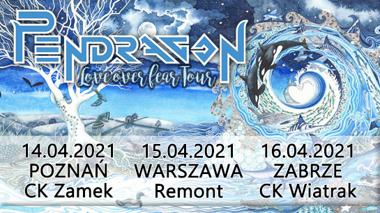 Koncert Pendragon w Poznaniu, Warszawie i Zabrzu